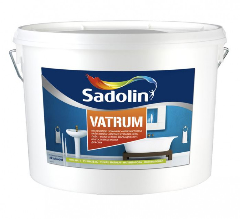 Sadolin VATRUM BW 10 L Latex Paint
