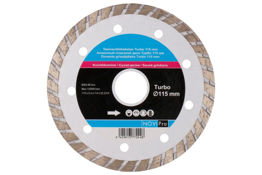 Diamond disc Turbo 115mm, Novipro