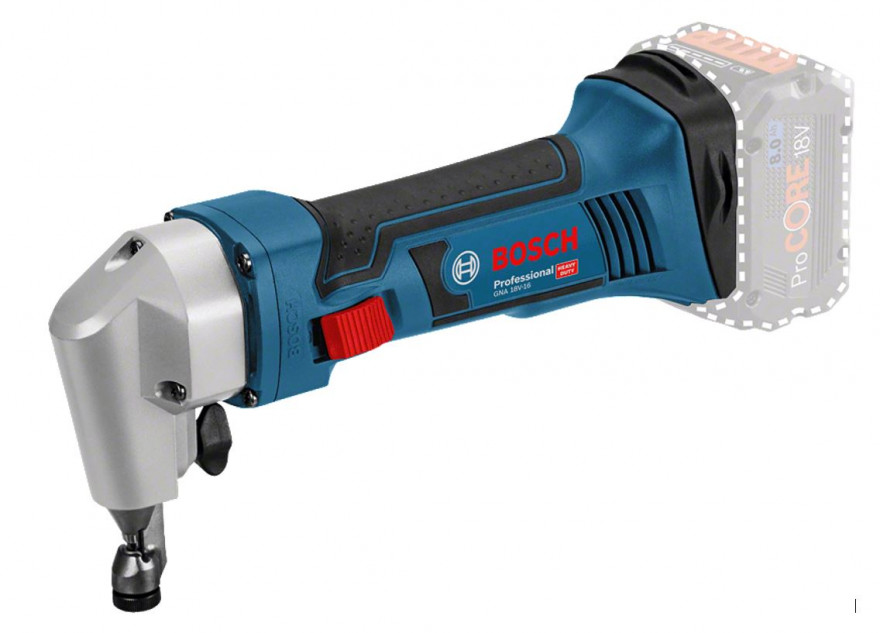 Аккумуляторные вырубные ножницы Bosch GNA 18V-16 Professional