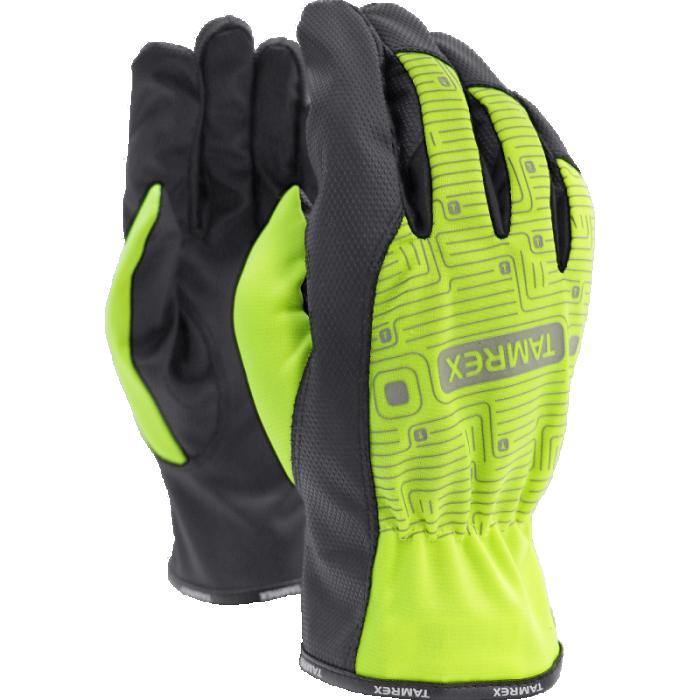 Tamrex hi-viz back gloves 10. size / XL, 44-372/10