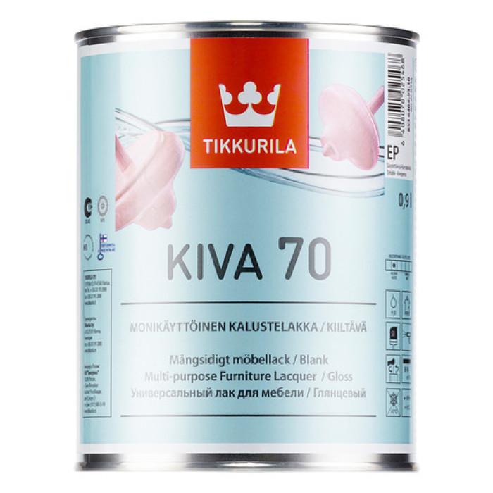 Tikkurila KIVA EP 0.9L Gloss Furniture Lacquer