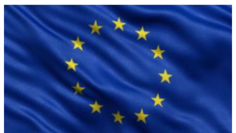 Eiropas Savienības karogs  100x200cm kātam