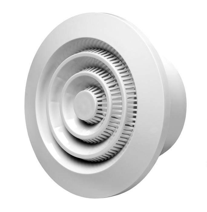 Ventilationgrilleplastic,ø80mm,ceiling