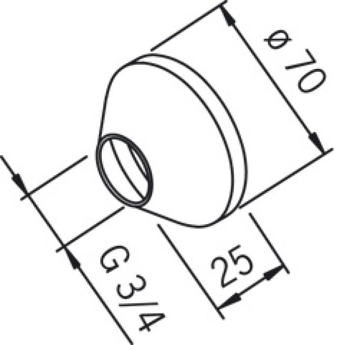 ORAS 203504/2 Rozete (pāris)  /A009151/