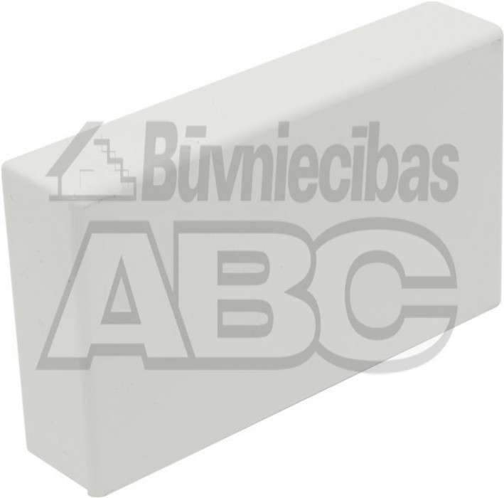 Cable trunking GGK end cap BR 60x110/80 white