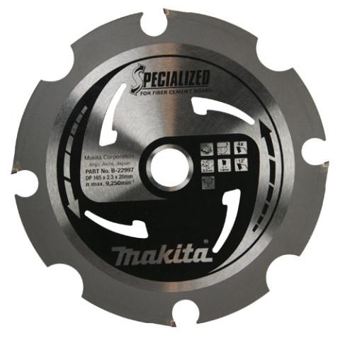 Zāģripa 165x20x2,1 mm 4T, 10°  Makita, B-22997