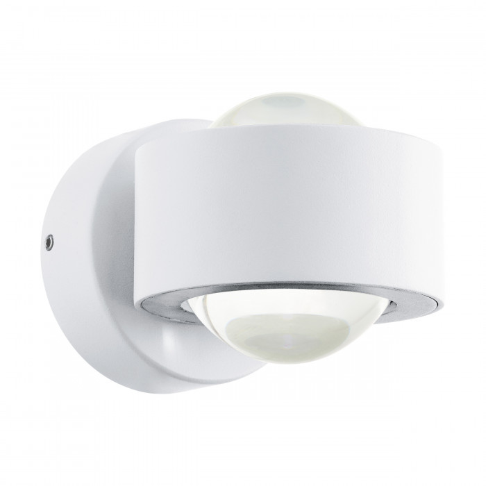 Настенный светильник для улицы EGLO Treviolo LED 2X2W 460lm IP44 белый 98747