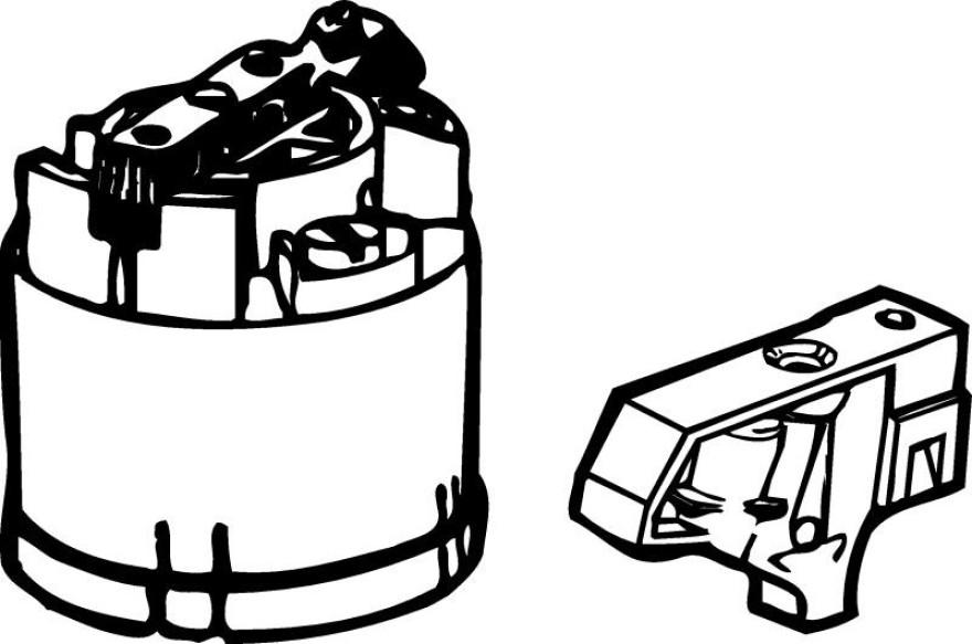 Cartridge for mixer
