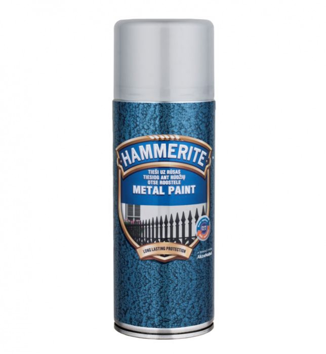ANTICORROSIVE PAINT HAMMERED SILVERGREY 400ML Aerosol