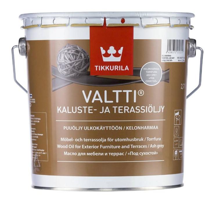 Tikkurila VALTTI KALUSTE 2.7L Furniture and Decking Oil, Brown