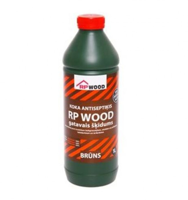 RP WOOD ready solution 1l brown