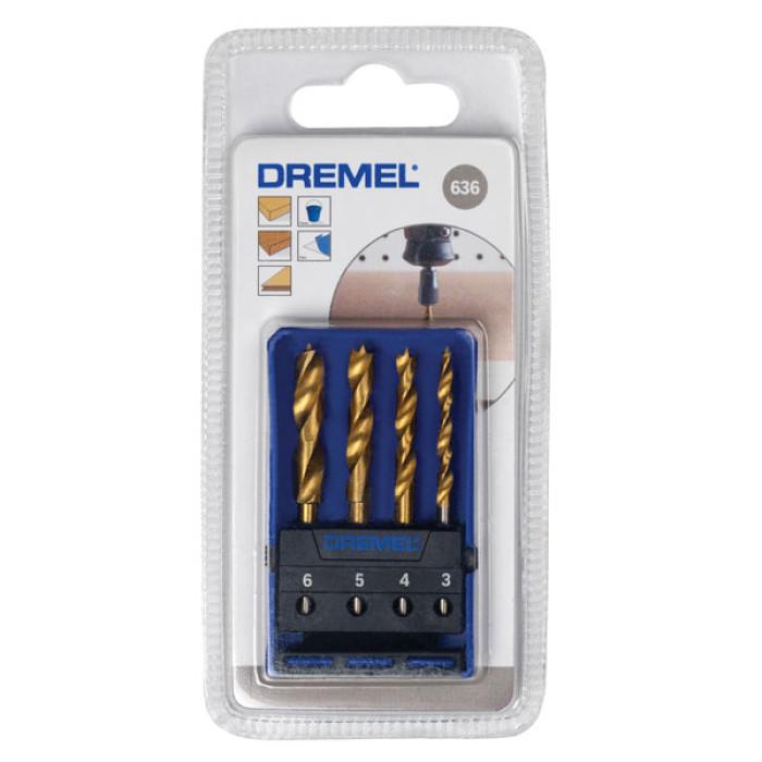 Dremel 636 Wood Drill Bit Set
