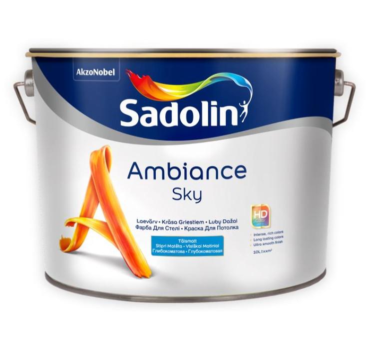 Sadolin AMBIANCE SKY 2.5L Full-matt Paint for Ceilings