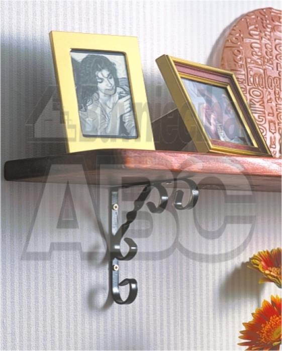 Кронштейн декоративный 100x100 черный