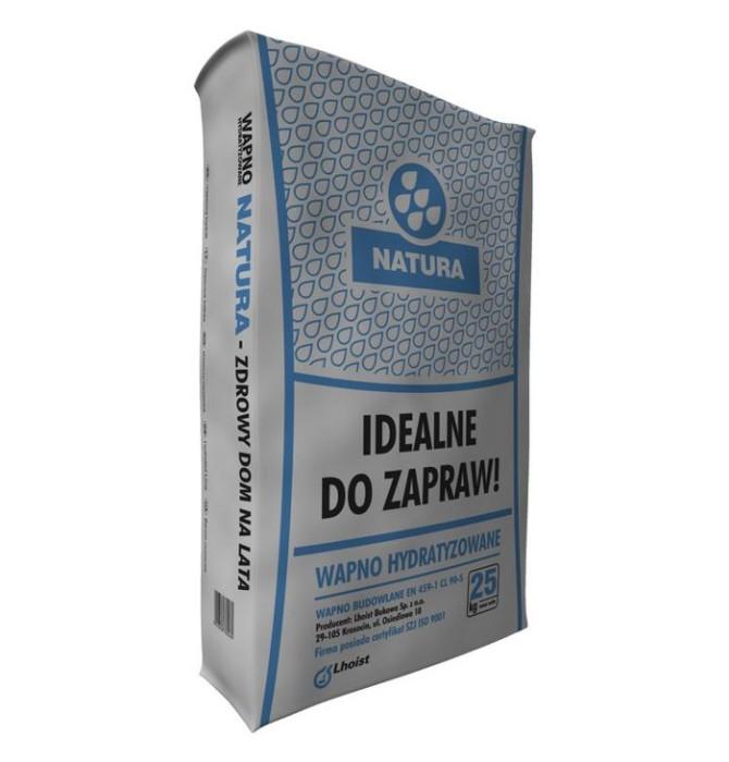 Sakret Dzēstais kaļķis 25kg  Polija