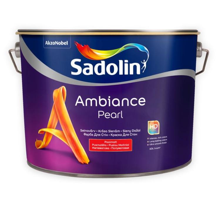 Sadolin AMBIANCE PEARL BC 9.3L Semi-matt Paint for Walls