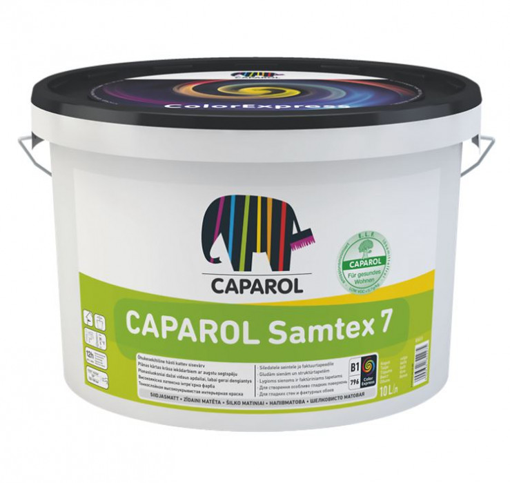 Latex paint Caparol SAMTEX 7 ELF B1 5L