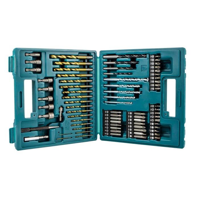 Makita 75 Piece Drill Bit and Screw Bit Set B-49373