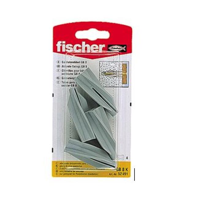 FISCHER GB 8 dībelis 4gab. (61-924B)