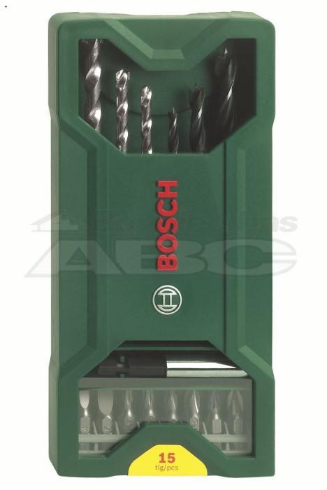 Bosch Komplekts mini 15 daļas