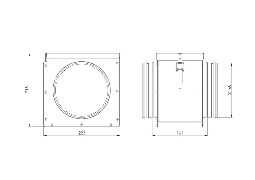 Filter,ø160mm