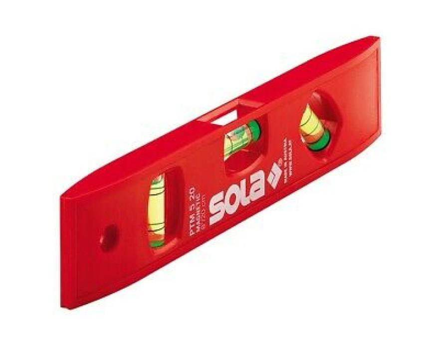 Уровень строительный SOLA PTM 5 20 SB, ABC, 01430620