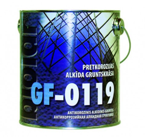Biolar Gruntskrāsa GF-0119    0.8l pelēka