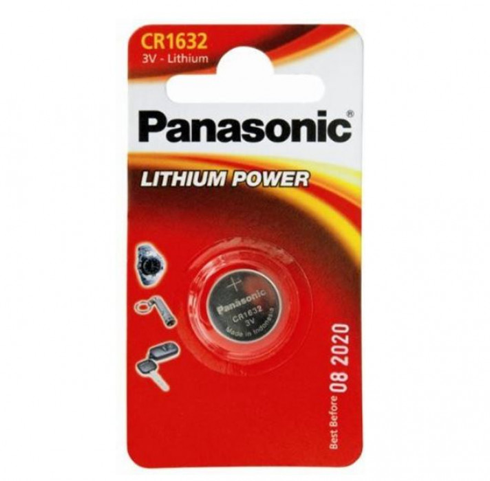 LITHIUM BATTERY PANASONIC 3V 1piece/pack