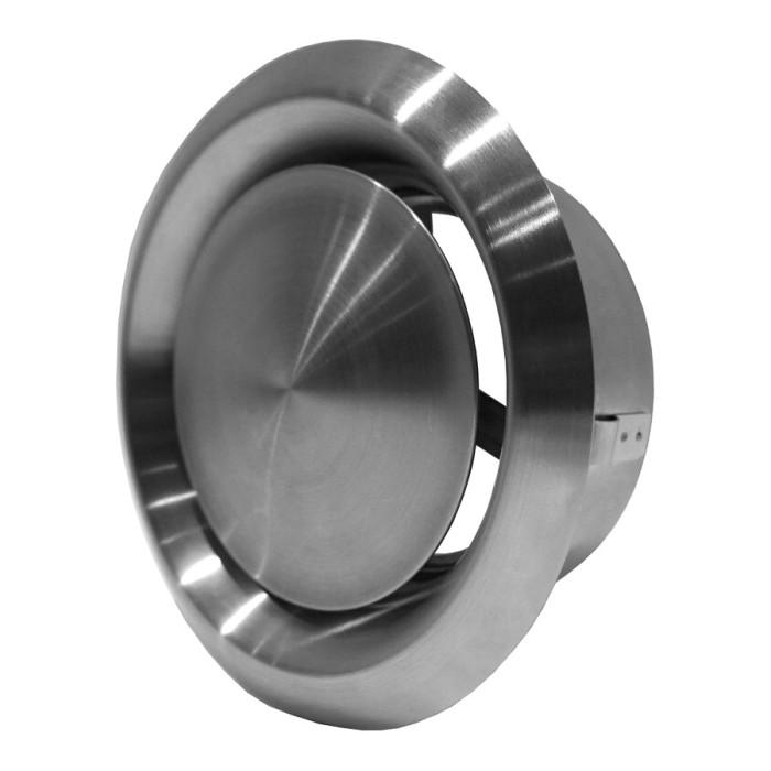 Diffusermetal,universal,ø125mm,inox