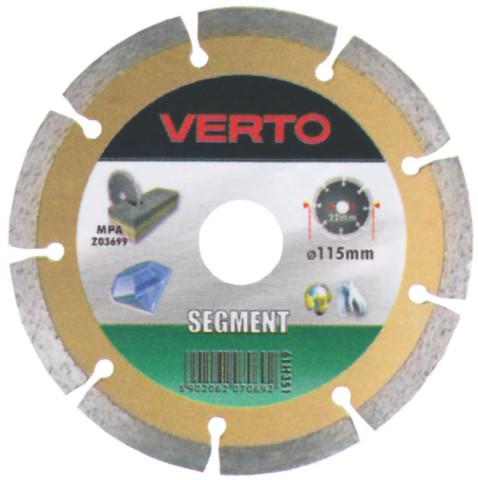 Dimanta ripa Segmenta 230x22mm  akmenim