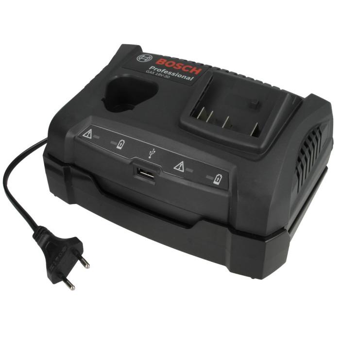 Akumulatoru uzlādes ierīce BOSCH GAX 18V-30 1600A011A9