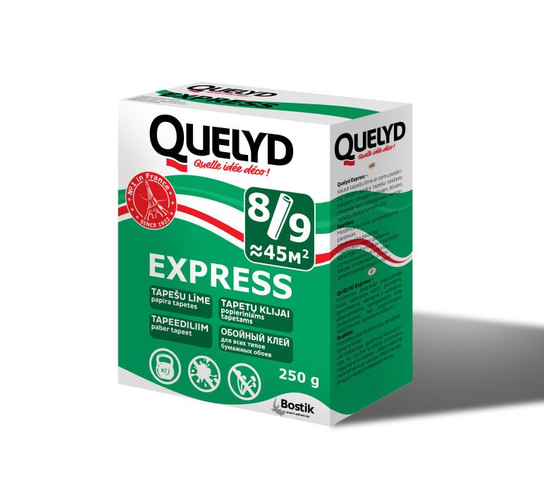 Wall paper adhesive Bostik Quelyd EXPRESS 250g Tapešu līme (431018179)