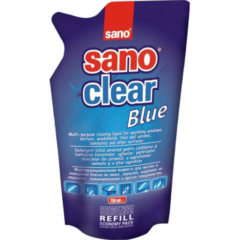 Sano SANOCLEAR Ref.bag  750ml  Līdzeklis stiklu tīrīšanai
