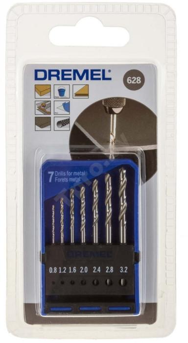 Dremel Precision Drill Bit Set 628, 2615062832