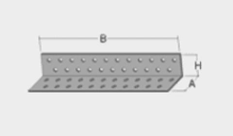 Stūra leņķis 2.0mm   20*40x40mm, 300-001