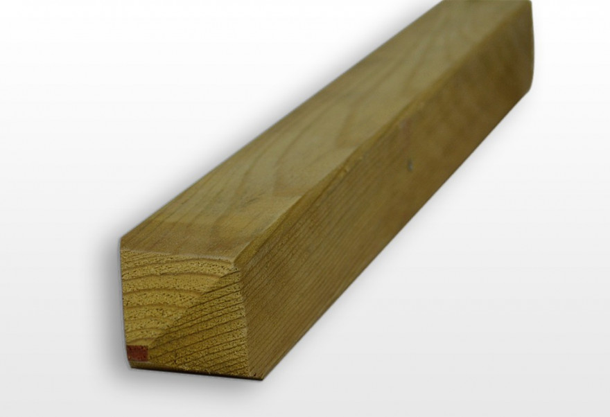 Timber 100x100x3000mm, impregnated