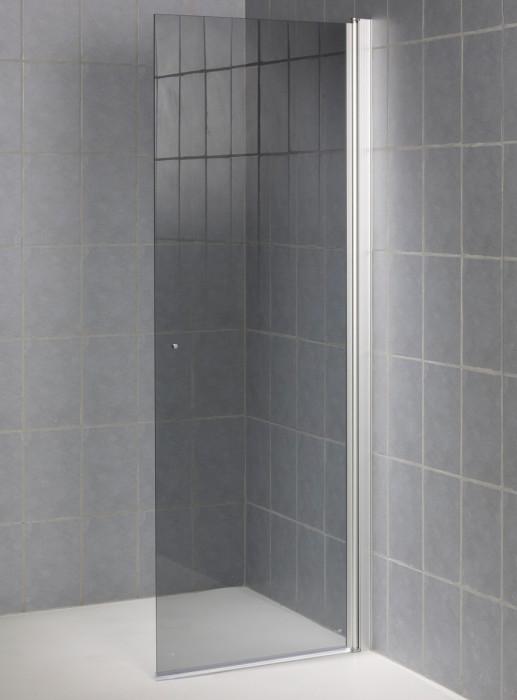 Dušas durvis 850x1950mmpelēks stikls , SS850H