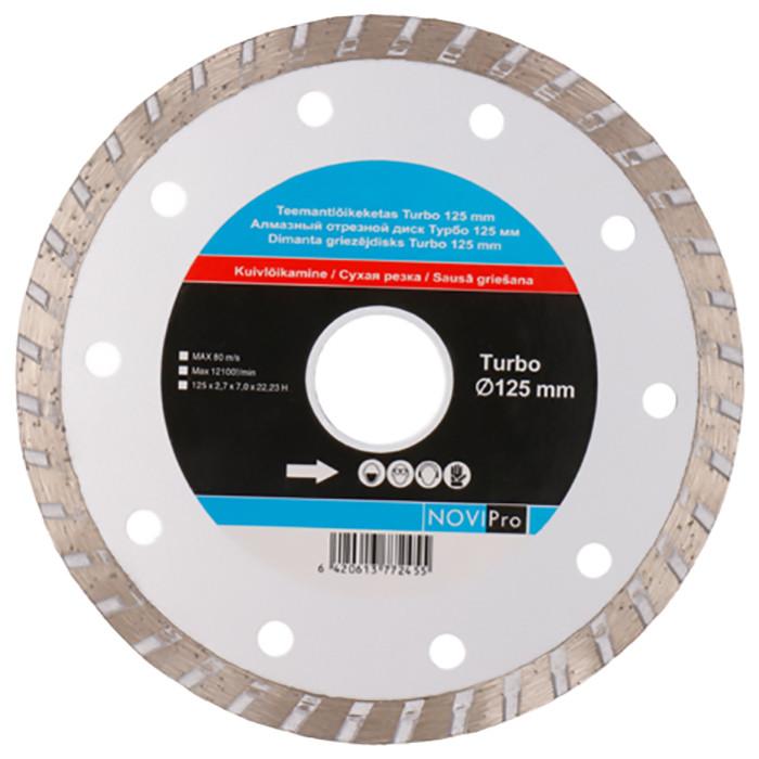 Diamond disc Turbo 125mm, Novipro