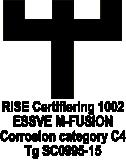Montāžas skrūve 4.5x65mm rupja vītne CS 200gab/iep., ESSVE 579165