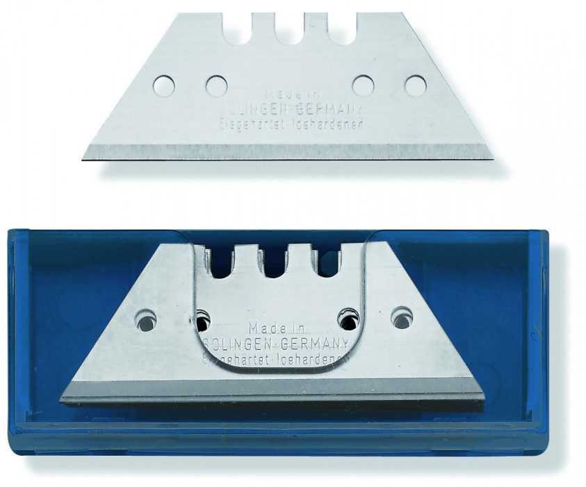COLOR EXPERT 10x trapezium blades, approx. 0,40mm in dispenser