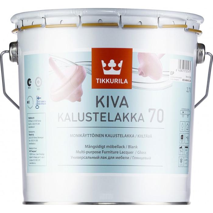 Tikkurila KIVA 70 2.7L Gloss Furniture Lacquer