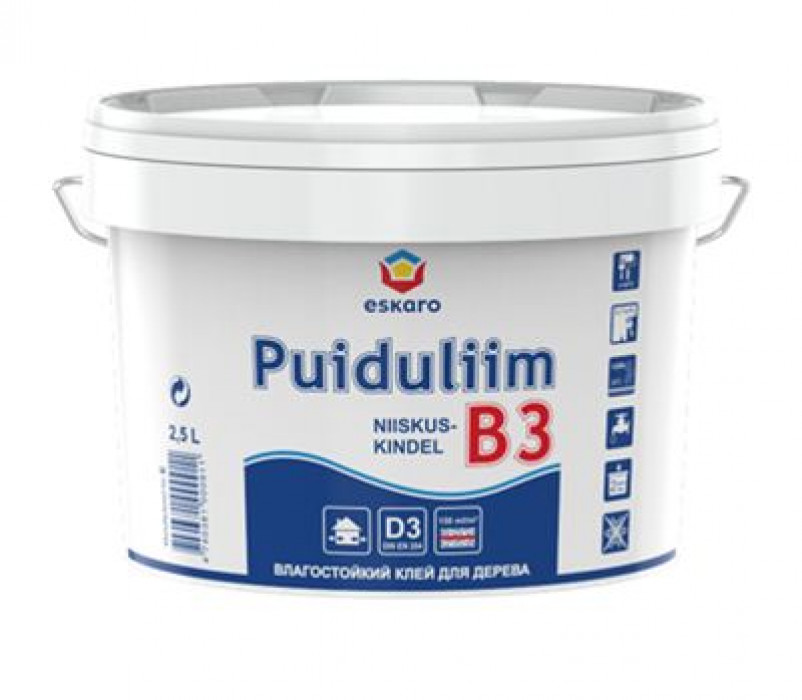GLUE Eskaro PUIDULIIM-B3 10 L for wood