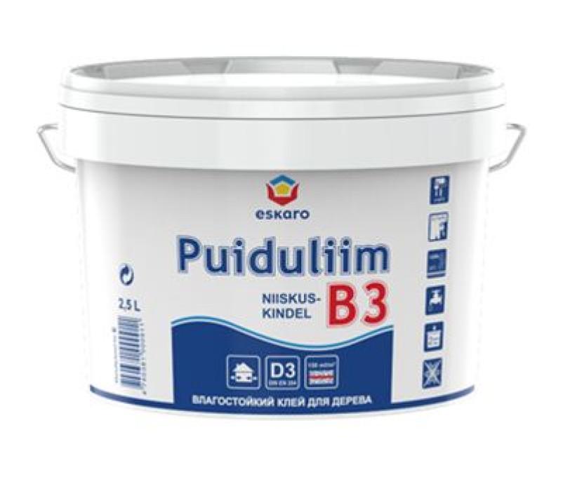 Glue Eskaro Puiduliim-B3 2.5 L for wood