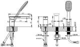 Vannas maisītājs 3-daļīgs  VENTA MG-2410  7102062