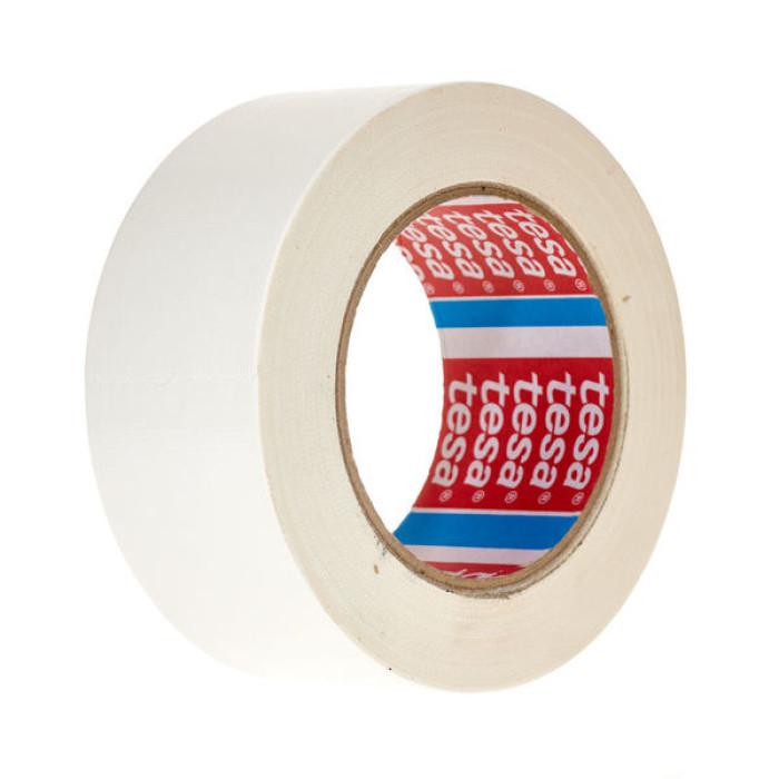 tesa 04688 Standard polyethylene coated cloth tape 25mx50mm White