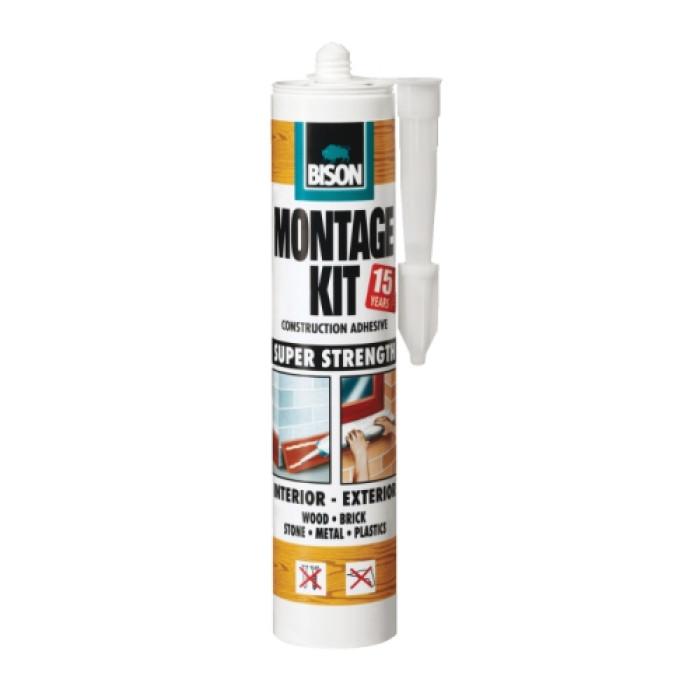 Bison MONTAGE KIT Super Strength 350g adhesive