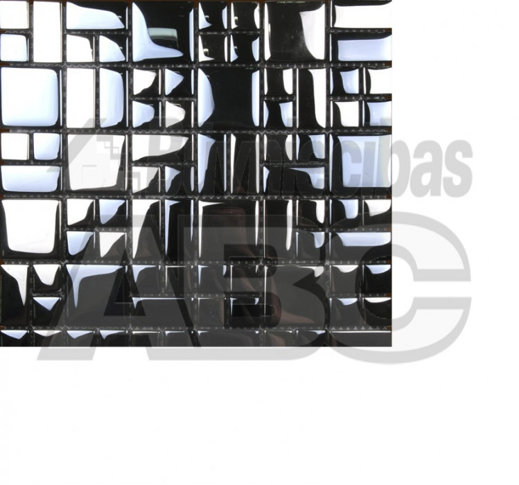 Glass mosaic tiles Midas No.16  8x300x300mm MGL08XX016
