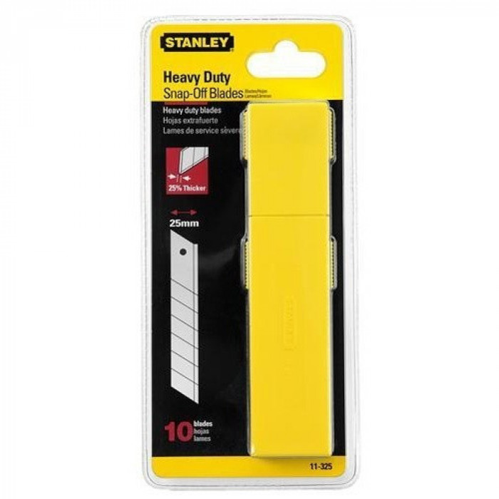 Stanley 0-11-325 Snap Off Blades (10) 25mm