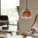 Griestu lampa EGLO Rocamar E27 max40W cooper 94589