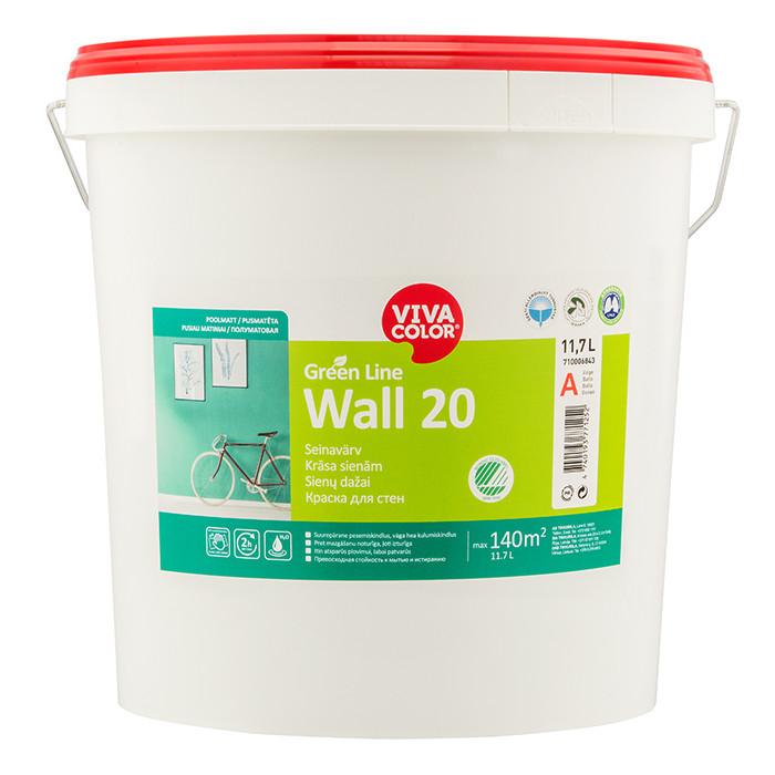 VIVACOLOR GL Wall 20 A 11.7L Semi matt wall paint
